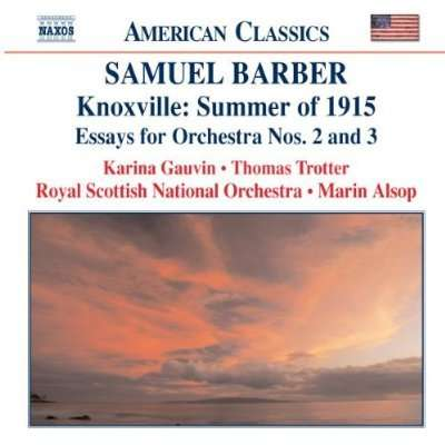 essays for orchestra samuel barber