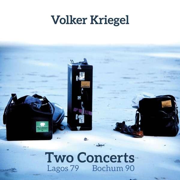 Volker Kriegel (1943-2003): Two Concerts (Lagos 1979 & Bochum 1990), 2 CDs