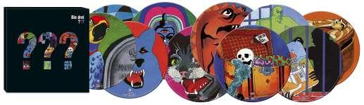 Die drei ???: Die drei ??? - Picture-Vinyl-Box (Folgen 01 - 10) (Limited-Edition) (Picture Disc), 10 LPs