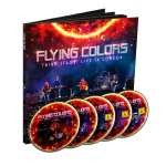 Flying Colors: Third Stage: Live In London (Limited Earbook), 2 CDs, 2 DVDs und 1 Blu-ray Disc