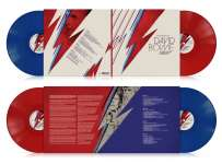 David Bowie: Many Faces Of David Bowie (180g) (Limited Edition) (Transparent Red & Blue Vinyl), 2 LPs