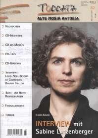 Zeitschriften: TOCCATA - Alte Musik aktuell (82), Zeitschrift