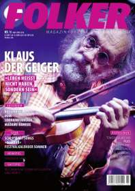 Zeitschriften: Folker - Magazin für Folk, Lied & Weltmusik Mai - Juni 2016, Zeitschrift