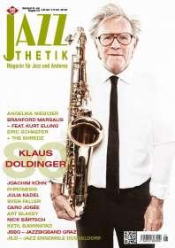 Zeitschriften: Jazzthetik - Magazin für Jazz und Anderes  Mai/Juni 2016, Zeitschrift