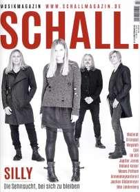 Zeitschriften: SCHALL - Musikmagazin 04 Frühling 2016, Zeitschrift