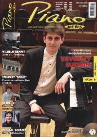 Zeitschriften: PIANONews - Magazin für Klavier & Flügel (Heft 4/2016), Zeitschrift
