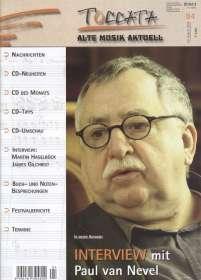 Zeitschriften: TOCCATA - Alte Musik aktuell (84), Zeitschrift