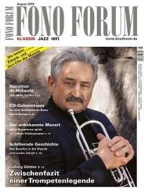 Zeitschriften: FonoForum August 2016 , Zeitschrift