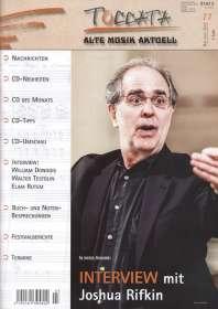 Zeitschriften: TOCCATA - Alte Musik aktuell (77), Zeitschrift