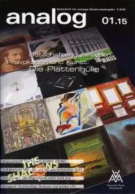 Zeitschriften: analog - Zeitschrift für analoge Musikwiedergabe  01/15, Zeitschrift