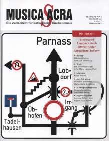 Zeitschriften: Musica Sacra - Zeitschrift für kath. Kirchenmusik  3/2015(Mai-Juni), Zeitschrift