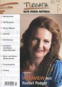 Zeitschriften: TOCCATA - Alte Musik aktuell (78), Zeitschrift
