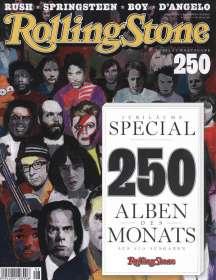 """Zeitschriften: ROLLING STONE August 2015 + CD """"New Noises Vol. 126 - Intact & Smiling"""" + Buch: """"250 Alben des Monats"""", Zeitschrift"""