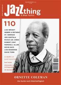 Zeitschriften: JAZZthing - Magazin für Jazz (110) September/Oktober 2015 , Zeitschrift