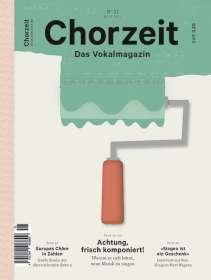 Zeitschriften: Chorzeit - Das Vokalmagazin Nr. 21 / November 2015, Zeitschrift