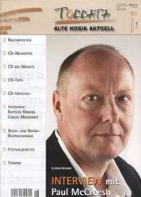 Zeitschriften: TOCCATA - Alte Musik aktuell (80), Zeitschrift
