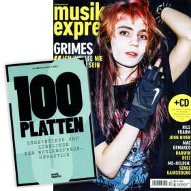 """Zeitschriften: musikexpress Dezember 2015 + CD: """"Der Soundtrack zum Heft 12.15"""" + ME:Bibliothek Band 7: 100 Platten"""" , Zeitschrift"""