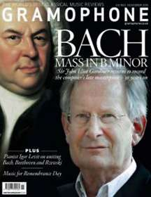 Zeitschriften: Gramophone November 2015 - The Classical Music Magazine, Zeitschrift