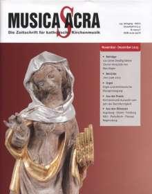 Zeitschriften: Musica Sacra - Zeitschrift für kath. Kirchenmusik  6/2015(November-Dezember), Zeitschrift