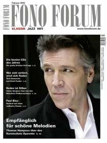 Zeitschriften: FonoForum Februar 2016 , Zeitschrift
