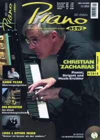 Zeitschriften: PIANONews - Magazin für Klavier & Flügel (Heft 4/2018), Zeitschrift