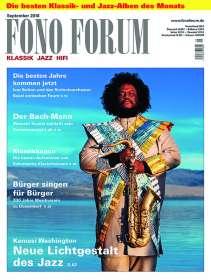 Zeitschriften: FonoForum September 2018, Zeitschrift