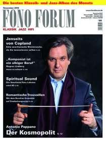 Zeitschriften: FonoForum November 2018, Zeitschrift