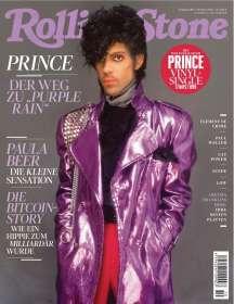 """Zeitschriften: ROLLING STONE Oktober 2018 + weltexklusive 7-Inch-Single """"Prince - 17 Days"""", Zeitschrift"""