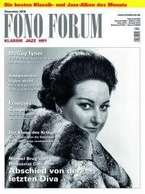 Zeitschriften: FonoForum Dezember 2018, Zeitschrift