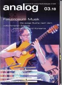 Zeitschriften: analog - Zeitschrift für analoge Musikwiedergabe 03/18, Zeitschrift