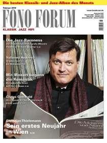 Zeitschriften: FonoForum Februar 2019, Zeitschrift