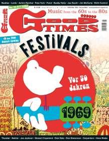 Zeitschriften: GoodTimes - Music from the 60s to the 80s Februar/März 2019, Zeitschrift