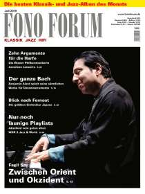 Zeitschriften: FonoForum Juli 2019, Zeitschrift