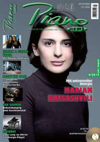 Zeitschriften: PIANONews - Magazin für Klavier & Flügel (Heft 4/2019), Zeitschrift