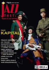 Zeitschriften: Jazzthetik - Magazin für Jazz und Anderes Juli/August 2019, Zeitschrift