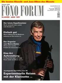 Zeitschriften: FonoForum Oktober 2019, Zeitschrift