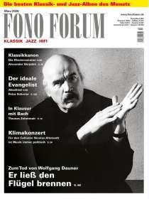 Zeitschriften: FonoForum März 2020, ZEI