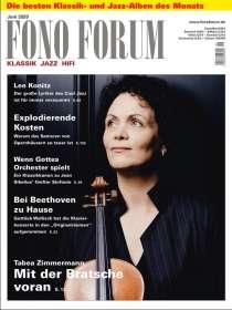 Zeitschriften: FonoForum Juni 2020, ZEI