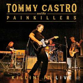 Tommy Castro: Killin' It Live, CD