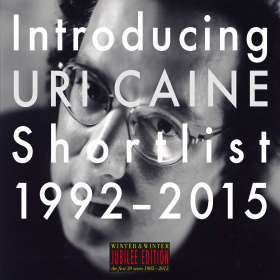 Uri Caine (geb. 1956): Introducing Uri Caine: Shortlist 1992 - 2015, CD