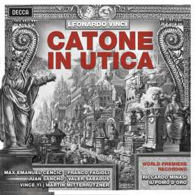 Leonardo Vinci (1690-1730): Catone in Utica, 3 CDs