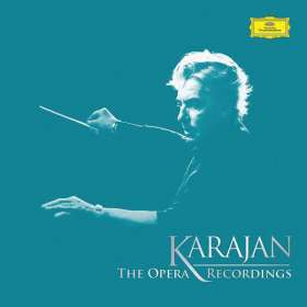 Herbert von Karajan - The Opera Recordings, 70 CDs