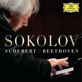 Grigory Sokolov - Schubert / Beethoven (180g), 3 LPs
