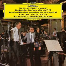 Wolfgang Amadeus Mozart (1756-1791): Klavierkonzert Nr.27 B-dur KV 595 (180g), LP