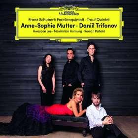 """Franz Schubert (1797-1828): Klavierquintett D.667 """"Forellenquintett"""", CD"""
