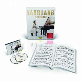 "Lang Lang - Piano Book (Deluxe Edition ""Score Box"" mit Bonus Tracks und den Noten aller Werke), CD"