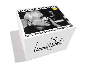 Leonard Bernstein - Complete Recordings on Deutsche Grammophon & Decca, 121 CDs