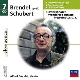 Franz Schubert (1797-1828): Alfred Brendel spielt Schubert (Eloquence-Box), 7 CDs