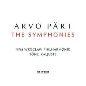 Arvo Pärt (geb. 1935): Symphonien Nr.1-4, CD