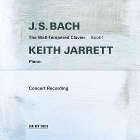 Johann Sebastian Bach (1685-1750): Das Wohltemperierte Klavier 1 (Konzertmitschnitt vom 7.3.1987 aus der Troy Savings Bank Music Hall), CD